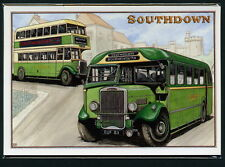 Southdown Autobus Jeu de Carte Postale Leyland PD3/4 Mec Arabe III & IV Titan