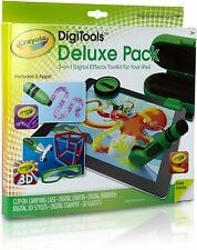 Crayola DigiTools Deluxe Pack 3-in1 Digital Effects Toolkit for iPad 3-D