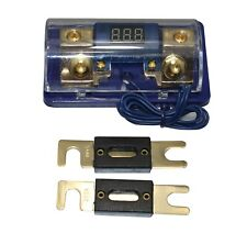 New listing Free 2Pc 80A Anl Digital Platinum Anl Dist Block 0-4 Ga Fuse Holder Fh061G