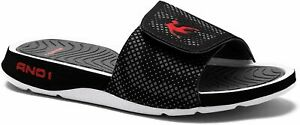 AND1 Enigma 2.0 Men's Athletic Slippers, Adjustable Width Brand New Limited Item