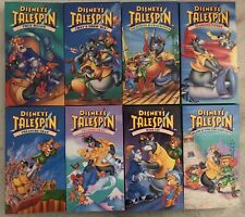 Walt Disney's Talespin TV Show - 8 VHS Tapes - Pre-Owned