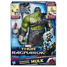 Marvel Thor Ragnarock Hulk Gladiatre Interattivo con effetti sonori Hasbro