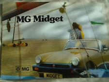 MG Midget BROCHURE OTT 1974 RIF. 3088