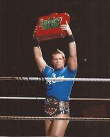 WWE WRESTLING: THE MIZ SIGNED 10x8 ACTION PHOTO+COA **PROOF**