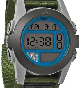 Nixon Men's A489-1376 Baja Digital Display Japanese Automatic Grey Watch