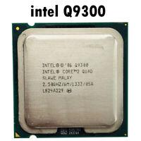 Intel Core 2 Quad Q9300 2.5 GHz Quad-Core CPU Processor 6M 95W LGA 775 6144 KB