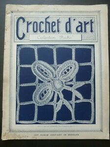 """CROCHET D'ART by Collection """"Recko"""" No. 2, 1920"""