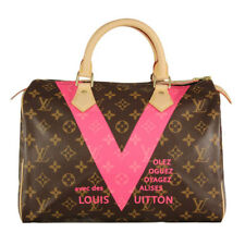 Louis Vuitton Bag LV Speedy Limited Edition V Monogram 30 Grenade Bag M41533