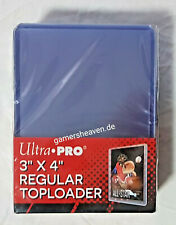 "Ultra Pro 25 Regular Toploader 3"" x 4"" Ultra Clear Neu Yu-Gi-Oh! Pokémon Magic"
