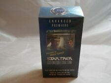 STAR TREK CCG ENHANCED PREMIERE SEALED DATA AND PICARD DECK