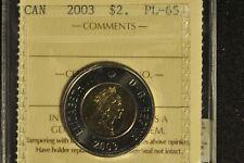 Canada 2003 Toonie 2 Dollar - ICCS - PL65 -