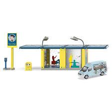 SIKU SIKUWORLD Haltestelle Bushaltestelle + Mercedes-Benz Sprinter Auto / 5509