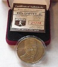 1994 KEN GRIFFEY JR HIGHLAND MINT BRONZE COIN W/BOX NICE!!