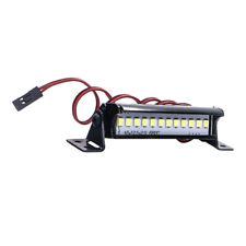 Wasserdichte Metall LED Lichtleiste Für SCX10 TRX4 D90 90048 RC Auto DIY Zubehör