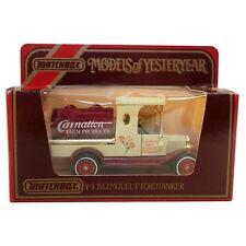 Matchbox Models of Yesteryear Y3 1912 Model T Ford Tanker Carnation Farm