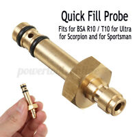 FOR BSA R10 ULTRAS SCORPIONS SPORTSMAN QUICK COUPLER FILL FILLING PROBE KITS γ