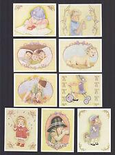 CIGARETTE/TRADE/CARDS. Amanda's Flowers. FLOWER CHILDREN.(Full Set of 12).(1990)
