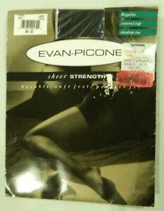 Evan Picone pantyhose Size Long color Cafe regalia sheer strength NIP