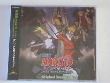 New Naruto Legend of the Stone of Gelel Original Soundtrack OST CD Movie #2