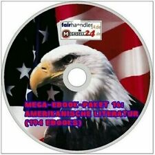 ☝ MEGA EBOOK PAKET 16 AMERIKANISCHE LITERATUR 194 eBooks English American 1A NEU
