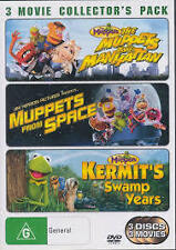 The Muppets 3 Movie Collectors Pack Take Manhattan From Space Region 4 DVD VGC