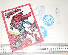 SUPERMAN 1979 Dc Comics Cisa italy notebook school - quaderno scuola mint red