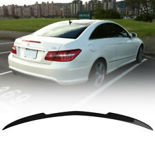 Fit Mercedes Benz C207 E Coupe Convertible High Kick V Type Trunk Spoiler Carbon