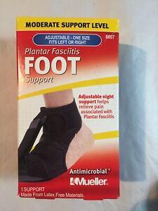 Mueller Plantar Fasciitis Foot Support Adjustable # 6607 New