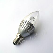 10x LED Dimmable Candle Bulb E14 SES Warm White 8x 3.3W 2x 4.5W