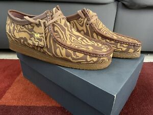 Wu-Tang Clan Wallabees Lo Clarks Brown Size 10.5 Wu Wear New