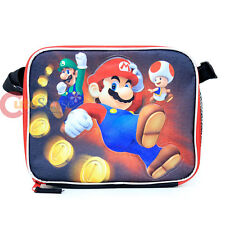 Nintendo Super Mario School Lunch Bag Insulated Box Snack Bag - Power Up