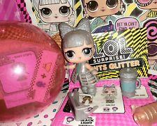 L.O.L. Surprise! Lights Glitter series Dancebot lol with Blacklight neon glow!