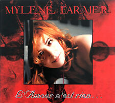 Mylène Farmer ‎CD Single L'Amour N'Est Rien... LTD Digipak - France (EX+/M)