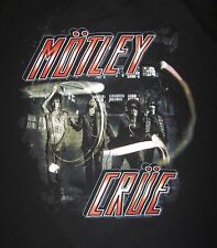 Motley Crue The Tour 2012 Adult Concert T-shirt, Size L, EUC