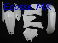 KTM SX125 SX250 SXF450 SX525 2005-06 UFO Plastik Set weiße Farbe ktkit503e 047