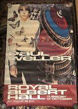 "Huge Vintage Paul Weller 1992 Royal Albert Hall Concert Poster 39.5"" X 59.5"" Jam"