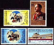 Irak Iraq 1969 ** Mi.562/65 Revolution Flughafen Airport