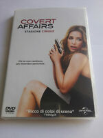 COVERT AFFAIRS STAGIONE CINQUE DVD SERIE TV NUOVO SIGILLATO 4 DISCHI ITALIANO