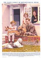 Royalty.1940's.Queen Mother.Princess Margaret.King George V1.Princess Elizabeth