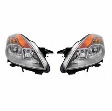 For Nissan Altima 08-09 Right & Left Headlights Headlamps Coupe Pair Set