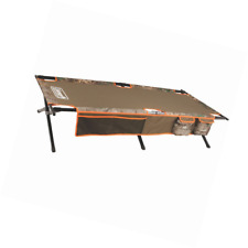 Coleman Trailhead Camping Cot Outdoor Extra Wide Folding Steel Frame Camo NEW