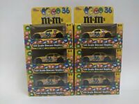 Lot of 6 Nascar Racing Champions M&M's #36 New in Box 1:64 Scale Diecast Replica