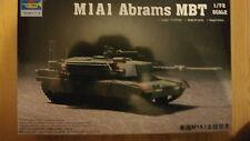 Trumpeter 07276 M1A1 ABRAMS MBT escala 1/72.