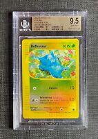 Pokemon BGS 9.5 (I T A L I A N) Bulbasaur Rev. Foil Expedition #94/165 Gem Mint