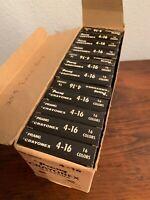 VTG Prang Crayonex Crayons - 12 Boxes Of 16 Crayons Each