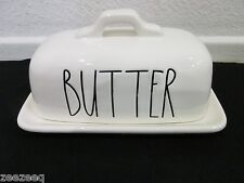 "RAE DUNN MAGENTA COVERED BUTTER DISH 'BUTTER"" Last One!!"