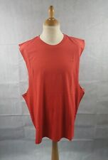 3aedf81063998 Topman Men s Red Tank Vest Sleeveless Crew Neck Cotton Top Size XXL BNWT