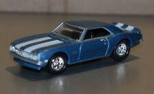 Johnny Lightning 1:64 1968 Camaro Ss blue Die-Cast no box