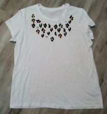 Victoria Secret Sequin Tee Large *NWT*