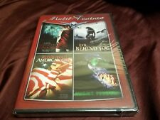 Night Junkies/Evil Behind You/Red Blooded Amer New DVD! Ships super fast.